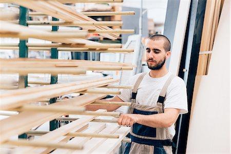 Carpenter in workshop Stock Photo - Premium Royalty-Free, Code: 649-08329150