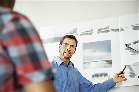 Architects working on a project Stock Photo - Premium Royalty-Free, Code: 649-02666896