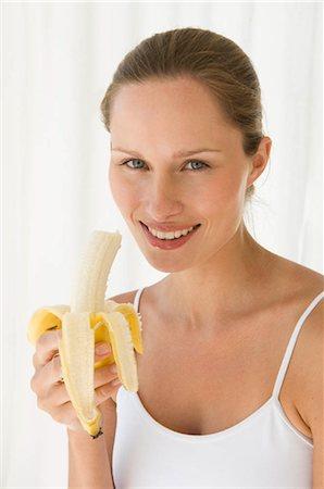Female with fruit Stock Photo - Premium Royalty-Free, Code: 649-02732074