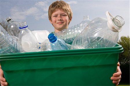 Children Recycling Stock Photo - Premium Royalty-Free, Code: 649-03009717