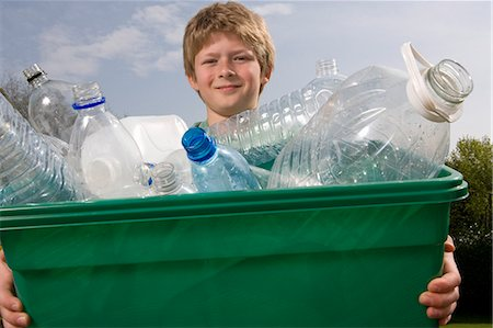 Children Recycling Stock Photo - Premium Royalty-Free, Code: 649-03009717