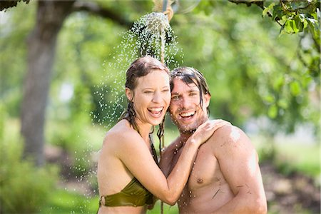 man and woman in nature Stock Photo - Premium Royalty-Free, Code: 649-03291768