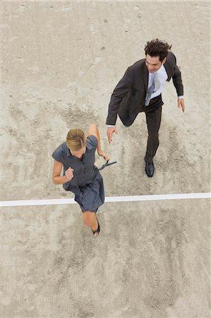 finish line - Business life Stock Photo - Premium Royalty-Free, Code: 649-03447212