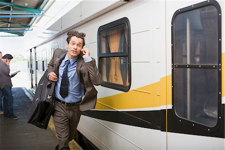 platform - Traveling by train Stock Photo - Premium Royalty-Free, Code: 649-03447305