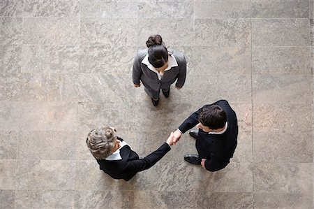 Business people shaking hands Stock Photo - Premium Royalty-Free, Code: 649-03465549