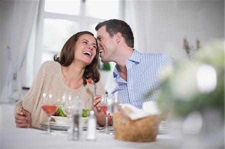 Laughing couple Stock Photo - Premium Royalty-Free, Code: 649-03566026