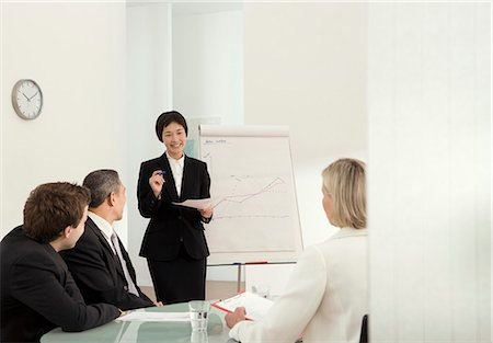 A corporate presentation Stock Photo - Premium Royalty-Free, Code: 649-03666527