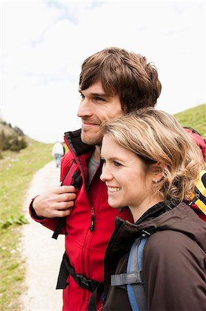 Couple watching panorama Stock Photo - Premium Royalty-Free, Code: 649-03769220