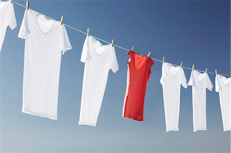 femininity - Washing line Stock Photo - Premium Royalty-Free, Code: 649-03770246