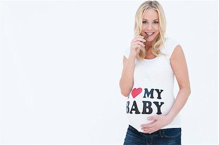 female silhouettes heart - Pregnant woman Stock Photo - Premium Royalty-Free, Code: 649-03773611