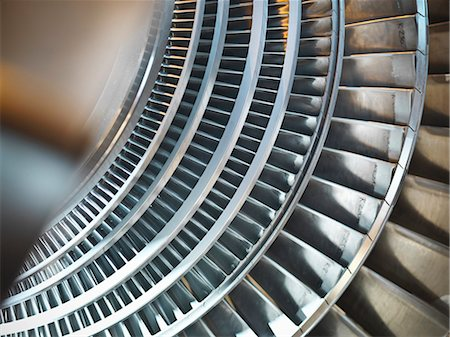 Turbine in power station Stock Photo - Premium Royalty-Free, Code: 649-03883730