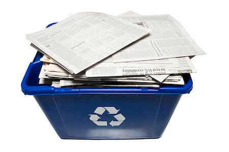 recycling bin Stock Photo - Premium Royalty-Free, Code: 640-06051265