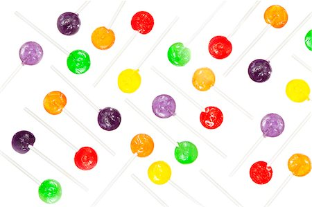Multi coloured lollypop decoration Stock Photo - Premium Royalty-Free, Code: 640-06963530