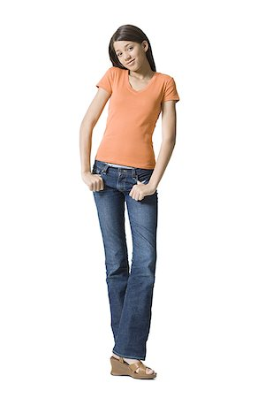 preteen thong - Portrait of a girl posing Stock Photo - Premium Royalty-Free, Code: 640-01351351
