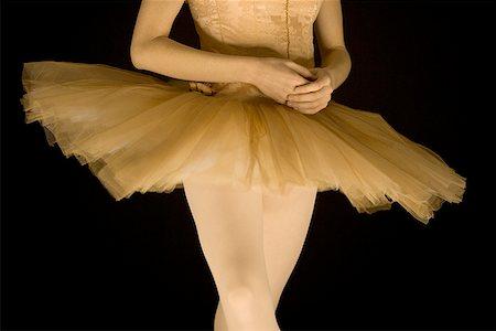 Ballerina in tutu dancing Stock Photo - Premium Royalty-Free, Code: 640-01352808