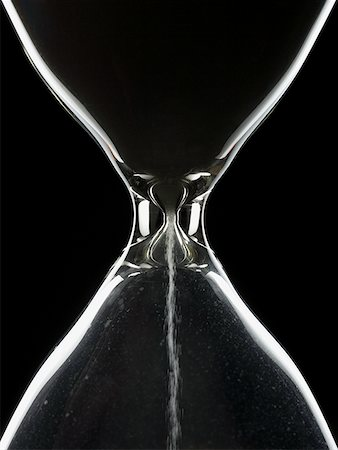 sand clock - Detailed view of hourglass Stock Photo - Premium Royalty-Free, Code: 640-01366419