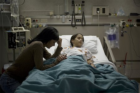 PHOTO OF GIRLS IN HOSPITAL