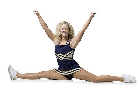 cheerleader Stock Photo - Premium Royalty-Free, Code: 640-02659129