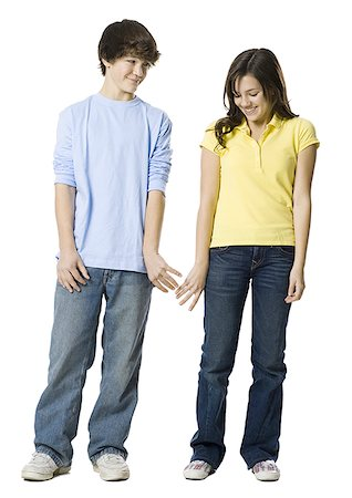 young couple holding hands Stock Photo - Premium Royalty-Free, Code: 640-02778551