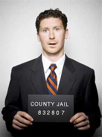 Mug shot of businessman Stock Photo - Premium Royalty-Free, Code: 640-02770782