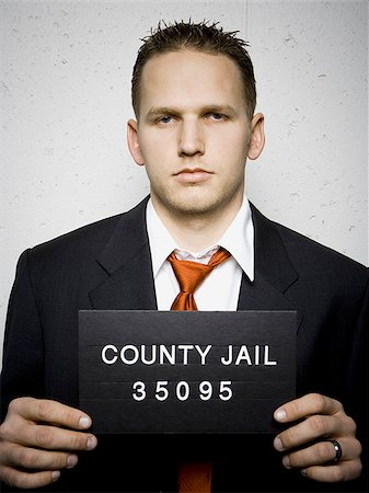 Mug shot of businessman Stock Photo - Premium Royalty-Free, Code: 640-02771002