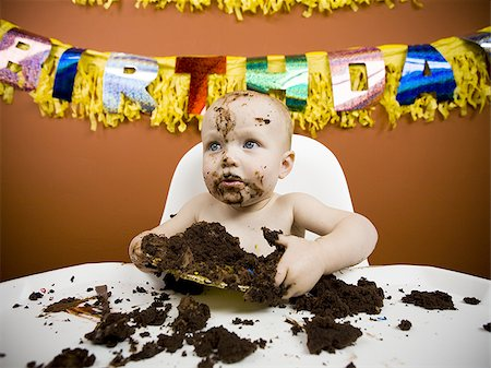 baby eats birthday cake stock photos page 1 masterfile on images baby eating birthday cake