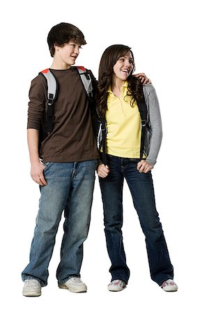 teenage couple Stock Photo - Premium Royalty-Free, Code: 640-02949014