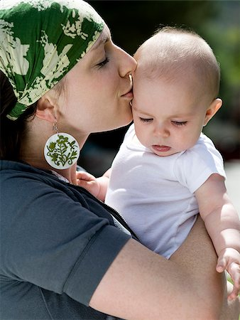 mother and baby girl Stock Photo - Premium Royalty-Free, Code: 640-02950757