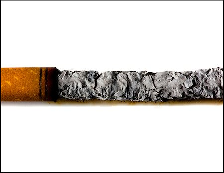smoked - smoked cigarette Stock Photo - Premium Royalty-Free, Code: 640-02953299