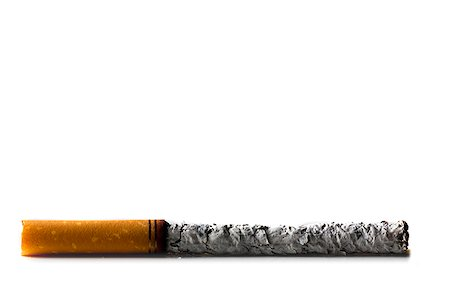 smoked - smoked cigarette Stock Photo - Premium Royalty-Free, Code: 640-02953464