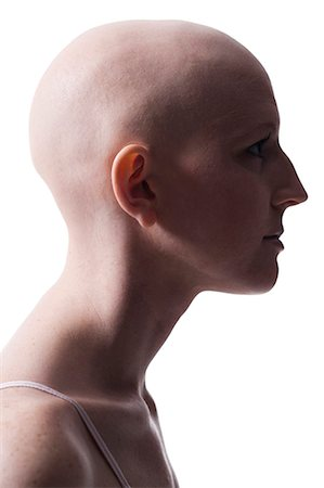 Bald woman Stock Photo - Premium Royalty-Free, Code: 640-03256087