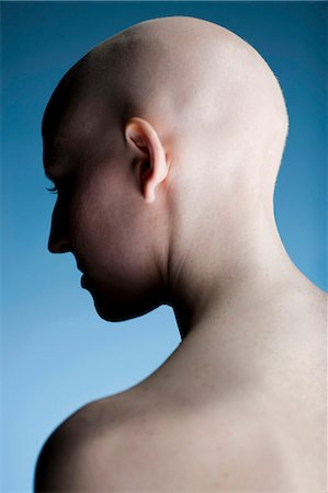 Bald woman Stock Photo - Premium Royalty-Free, Code: 640-03256088