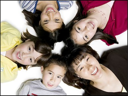 Five children laughing Stock Photo - Premium Royalty-Free, Code: 640-03258317