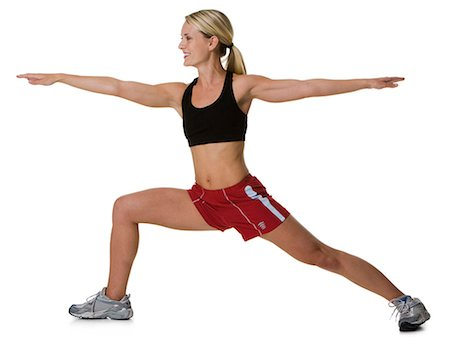 female rear end - Woman stretching Stock Photo - Premium Royalty-Free, Code: 640-03259560