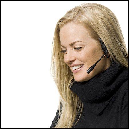 Woman on a laptop Stock Photo - Premium Royalty-Free, Code: 640-03264049