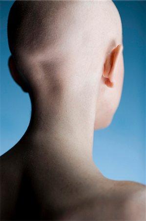 female rear end - Bald woman Stock Photo - Premium Royalty-Free, Code: 640-03264095