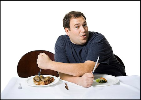 Couple eating lunch Stock Photo - Premium Royalty-Free, Code: 640-03265145