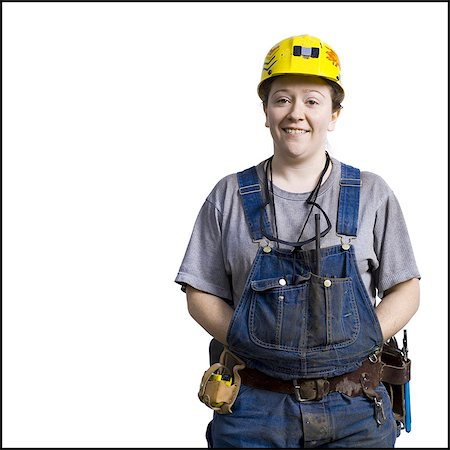 planner - Female construction worker with hardhat Stock Photo - Premium Royalty-Free, Code: 640-03265271