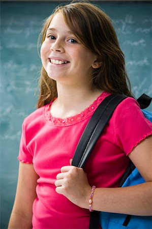 sad girls - Sad girl in classroom Stock Photo - Premium Royalty-Free, Code: 640-03260512