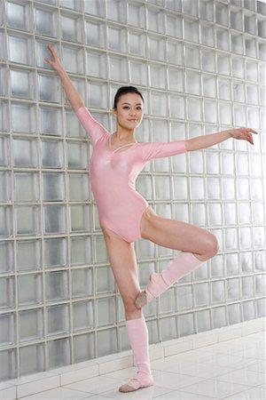 a female artistic gymnast Stock Photo - Premium Royalty-Free, Code: 642-02005615