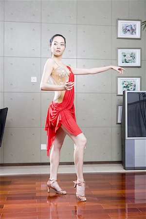 a female dancer Stock Photo - Premium Royalty-Free, Code: 642-02006071