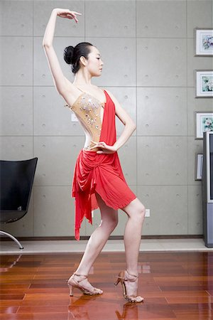 a female dancer Stock Photo - Premium Royalty-Free, Code: 642-02006072