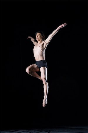 a male gymnast Stock Photo - Premium Royalty-Free, Code: 642-02006682