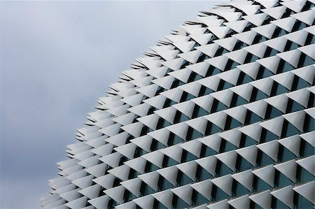 repeating - Closeup of Esplanade,Singapore. Stock Photo - Premium Royalty-Free, Code: 656-03076210