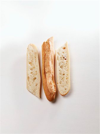 A sliced baguette Stock Photo - Premium Royalty-Free, Code: 659-06155705