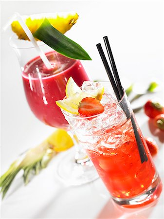 Red Mexx and Colada Stock Photo - Premium Royalty-Free, Code: 659-06151201