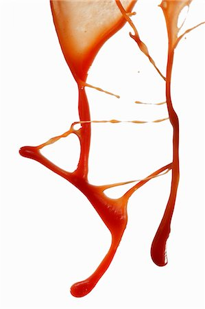 stain (dirty) - Sprayed ketchup Stock Photo - Premium Royalty-Free, Code: 659-06153311
