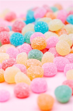 Brightly colored gum drops Stock Photo - Premium Royalty-Free, Code: 659-06153745