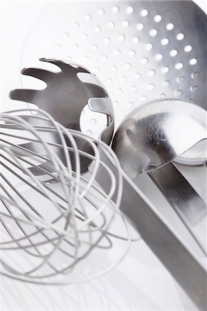 An assortment of kitchen tools Stock Photo - Premium Royalty-Free, Code: 659-06185758