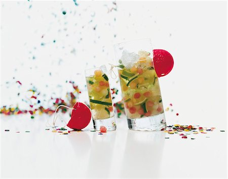 Lime cocktails for a party Stock Photo - Premium Royalty-Free, Code: 659-06186926
